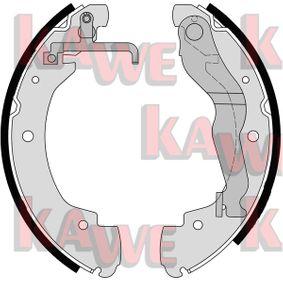 Bremsbackensatz Breite: 55mm mit OEM-Nummer 701 609 532E