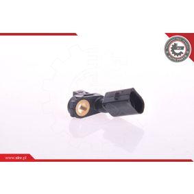 Sensor, Raddrehzahl Pol-Anzahl: 2-polig mit OEM-Nummer 6Q0927803A