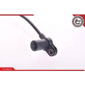 Sensor, Raddrehzahl Länge: 430mm mit OEM-Nummer 9 115 064