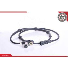 Sensor, Raddrehzahl Länge: 900mm, Pol-Anzahl: 2-polig mit OEM-Nummer 454543