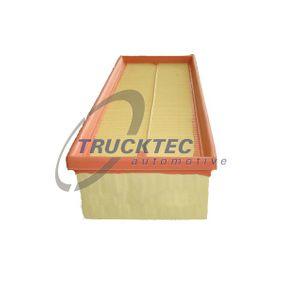 Touran 1T1, 1T2 1.4TSI Luftfilter TRUCKTEC AUTOMOTIVE 07.14.210 (1.4 TSI Benzin 2006 CAVC)