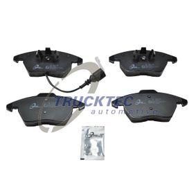 Bremsbelagsatz, Scheibenbremse mit OEM-Nummer 1K0-698-151-E