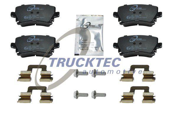 TRUCKTEC AUTOMOTIVE  07.35.138 Bremsbelagsatz, Scheibenbremse