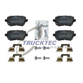 Bremsbelagsatz, Scheibenbremse mit OEM-Nummer 4F0698451D