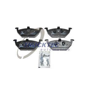 Bremsbelagsatz, Scheibenbremse mit OEM-Nummer 6Q0 698 151