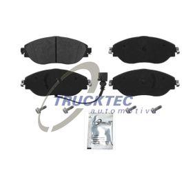 Brake Pad Set, disc brake with OEM Number 5Q0 698 151 K