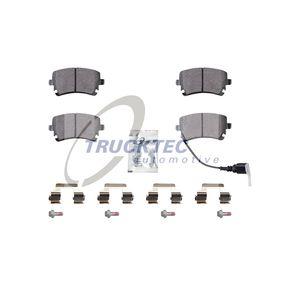 2014 T5 Transporter 2.0 TDI Brake Pad Set, disc brake 07.35.239