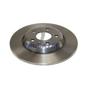 Bremsscheibe Bremsscheibendicke: 12mm, Lochanzahl: 5, Ø: 300mm mit OEM-Nummer 8K0 615 601 M