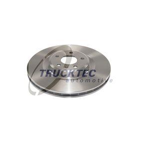 Brake Disc Brake Disc Thickness: 29,5mm, Num. of holes: 5, Ø: 345mm with OEM Number 8K0 615 301Q