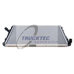 Kühler, Motorkühlung Netzmaße: 650 x 445 x 34 mm mit OEM-Nummer 1K0 121 251DD