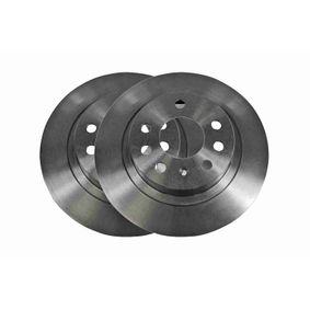 Bremsscheibe Bremsscheibendicke: 10mm, Felge: 5-loch, Ø: 278mm mit OEM-Nummer 93184247