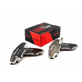 High Performance Brake Pad Set with OEM Number 45022SMTE50