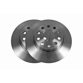 Bremsscheibe Bremsscheibendicke: 9,7mm, Felge: 5-loch, Ø: 272mm mit OEM-Nummer 1K0 615 601AA