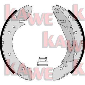 Bremsbackensatz Breite: 40mm mit OEM-Nummer 60 25 370 302