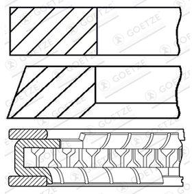 Kolbenringsatz 08-450007-00 TWINGO 2 (CN0) 1.2 16V Bj 2014