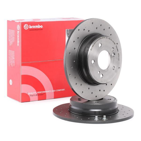 Disc Brakes BREMBO 08.7211.2X expert knowledge