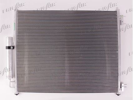 FRIGAIR  0801.2016 Kondensator, Klimaanlage Netzmaße: 595 X 565 X 16 mm, Kältemittel: R 134a