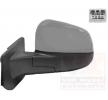 Espejo retrovisor VAN WEZEL 8700273 izquierda, calefactable, convexo, espejo completo, para ajuste elect. espejo, rebarnizable