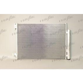 Kondensator, Klimaanlage Netzmaße: 515 x 400 x 12 mm, Kältemittel: R 134a mit OEM-Nummer 92 10 064 54R
