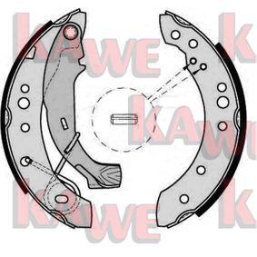 Bremsbackensatz Breite: 38mm mit OEM-Nummer 4242-01