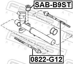 Axialgelenk, Spurstange FEBEST 0822-G12 Bewertung