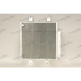 Kondensator, Klimaanlage Netzmaße: 325 x 375 x 16 mm, Kältemittel: R 134a mit OEM-Nummer 88450B1020