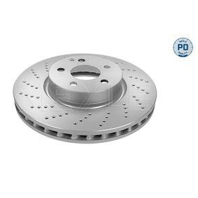 Disco freno Spessore disco freno: 32mm, N° fori: 5, Ø: 322mm con OEM Numero 204.421.1012
