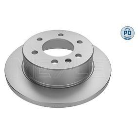 Bremsscheibe Bremsscheibendicke: 16mm, Lochanzahl: 6, Ø: 298mm mit OEM-Nummer A 906 423 0012