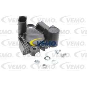 VEMO Generatorregler V10-77-1019 für AUDI A4 (8E2, B6) 1.9 TDI ab Baujahr 11.2000, 130 PS