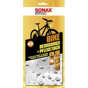 Handreiniger SONAX 08520000 für Auto (BIKE Reinigungs- & PflegeTuch Thekendisplay)