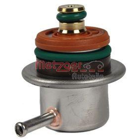 METZGER Kraftstoffdruckregler 0892132 für AUDI 80 (8C, B4) 2.8 quattro ab Baujahr 09.1991, 174 PS