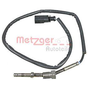 Sensor, Abgastemperatur Kabellänge: 625mm, 2-polig mit OEM-Nummer 03G 906 088 AN