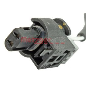 Sensor, Abgastemperatur Kabellänge: 400mm, 2-polig mit OEM-Nummer A007.153.90.28