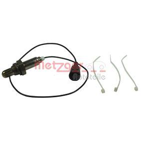 METZGER Lambdasonde 0895217 für AUDI 100 (44, 44Q, C3) 1.8 ab Baujahr 02.1986, 88 PS
