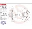BREMBO 09848311 Disc brake set