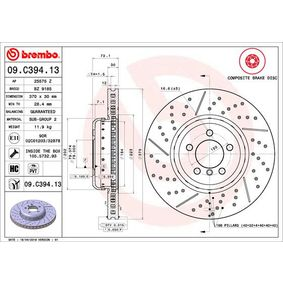 09.C394.13 BREMBO from manufacturer up to - 15% off!