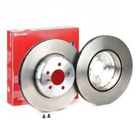Brake Disc Brake Disc Thickness: 24mm, Num. of holes: 5, Ø: 345mm with OEM Number 34 20 6 894 382