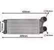 OEM Ladeluftkühler VAN WEZEL 8715395 für PEUGEOT