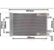 OEM Kondensator, Klimaanlage VAN WEZEL 8715444 für PEUGEOT