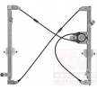 VAN WEZEL Elevador de vidros PEUGEOT à frente, lado esquerdo, Tipo de funcionamento: elétrico, sem motor elétrico