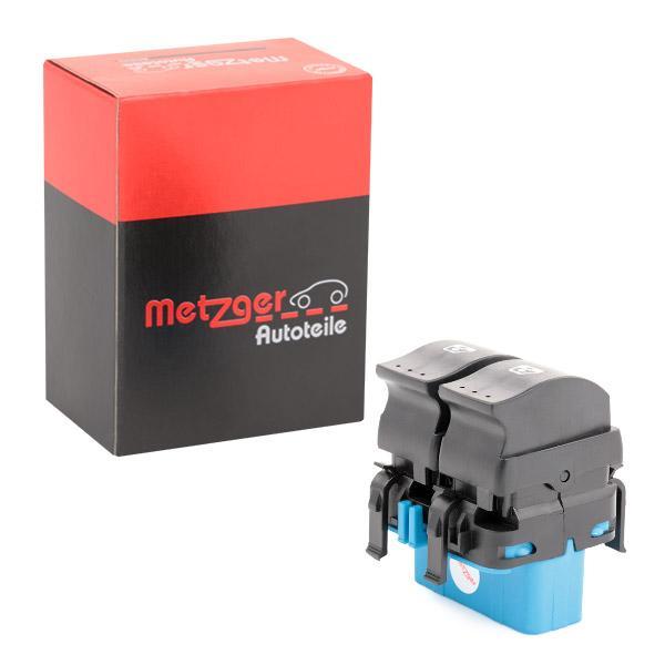 Interruptor, elevalunas METZGER 0916348 conocimiento experto