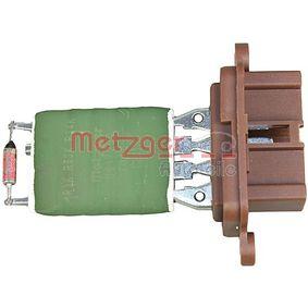 Resistor, interior blower 0917259 PUNTO (188) 1.2 16V 80 MY 2006