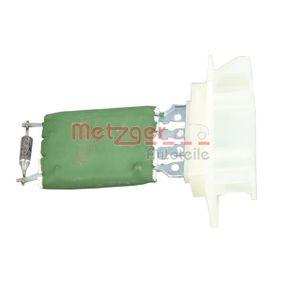 Resistor, interior blower 0917261 PUNTO (188) 1.2 16V 80 MY 2002