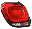 Rear lights VAN WEZEL 8718287 Left, with lamp base