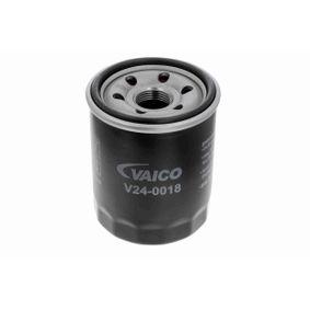 Cuerpo de Mariposa FIAT STILO (192) 1.4 16V de Año 01.2004 95 CV: Filtro de aceite (V24-0018) para de VAICO