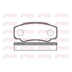 Bremsbelagsatz, Scheibenbremse Höhe: 50mm, Dicke/Stärke: 20mm mit OEM-Nummer 425468