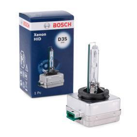 Крушка с нагреваема жичка, фар за дълги светлини D3S (газоразрядна лампа), 35ват 1 987 302 907