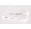 Cabin filter SSANGYONG ACTYON SPORTS I (QJ) 2013 year M5077 BOSCH Particulate Filter