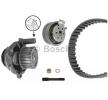 Pompa acqua + kit cinghia distribuzione BOSCH WASSERPUMPENSET N° denti: 138