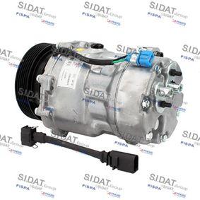 Klimakompressor Riemenscheiben-Ø: 120mm mit OEM-Nummer 1 076 012